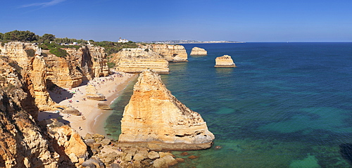 Praia da Marinha beach, Lagoa, Algarve, Portugal, Europe