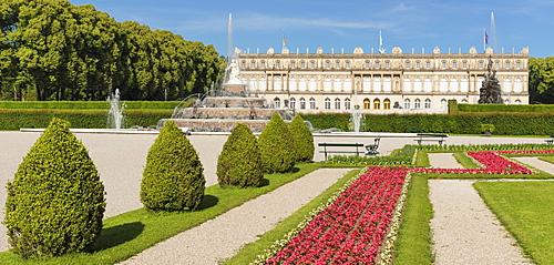 Schloss Herrenchiemsee, Herreninsel im Chiemsee, Upper Bavaria, Germany, Europe