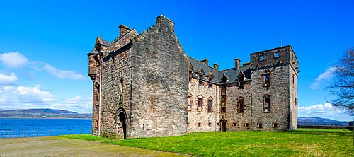 Newark Castle, Port Glasgow, Inverclyde, Scotland, United Kingdom, Europe
