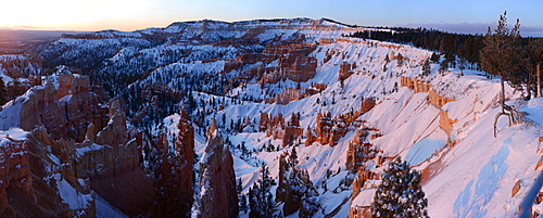 Bryce Canyon from Sunrise Point, Utah, USA