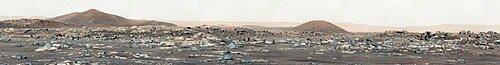 Mars Panorama, Perseverance Rover