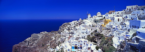 Village of Oia, Santorini, Cyclades, Greece
