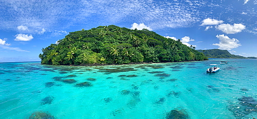 Motu Vaiorea, Huahine, Society Islands, French Polynesia, South Pacific, Pacific