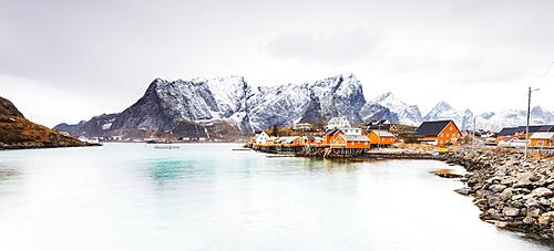 Sakrisoy, Moskenesoy, Lofoten Islands, Norway, Scandinavia, Europe