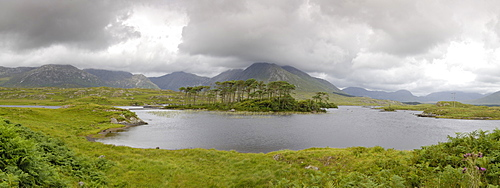 Derryclare Lough, Connemara, County Galway, Connnacht, Republic of Ireland, Europe