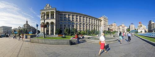 Maidan Nezalezhnosti (Independence Square), Kiev, Ukraine, Europe