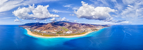 Jandia Peninsula, Morro Jable and Playa del Matorral, Fuerteventura, Canary Islands, Spain, Atlantic, Europe