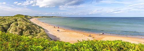 Beach, Embleton Bay, Northumberland, England, United Kingdom, Europe