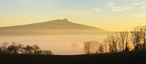 Hohenstoffeln Volcano, Hegau, Lake Constance, Baden-Württemberg, Germany, Europe