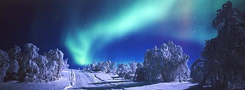 aurora borealis, Lappland