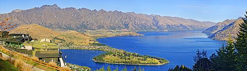 Skyline observation deck, Queenstown, Lake Wakatipu, Otago Region, South Island, New Zealand, Oceania