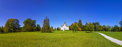 Congress Center, Villa Toscana in Toscana Park, Gmunden, Salzkammergut, Upper Austria, Austria, Europe