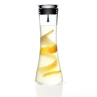 Fresh lemonade with a slice of orange, Drink