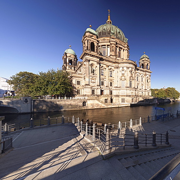 Berliner Dom (Berlin Cathedral), Spree River, Museum Island, UNESCO World Heritage Site, Mitte, Berlin, Germany, Europe