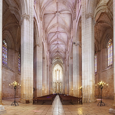 Mosteiro da Santa Maria da Vitoria (Monastery of St. Mary of the Victory), UNESCO World Heritage Site, Batalha, Leiria, Portugal, Europe