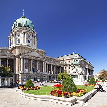 The Royal Palace, Buda Castle, UNESCO World Heritage Site, Budapest, Hungary, Europe