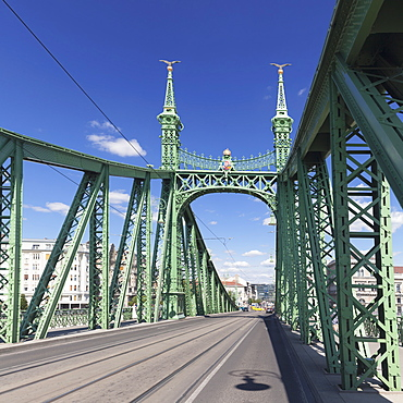 Liberty Bridge, Budapest, Hungary, Europe