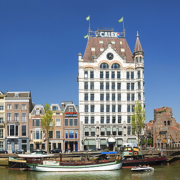 Witte Huis buidling at Oudehaven port, Rotterdam, South Holland, Netherlands, Europe