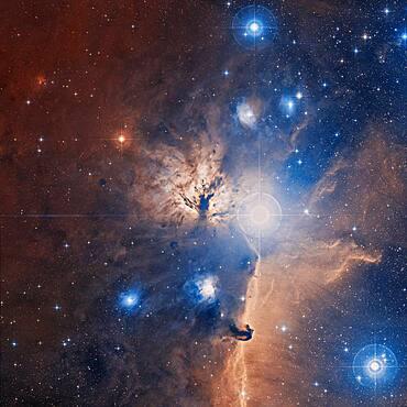 Flame Nebula, NGC 2024, Sh2-277, Optical