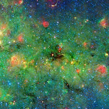 Dark Cosmic Clouds