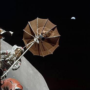 Eugene A. Cernan on the Moon, Apollo 17