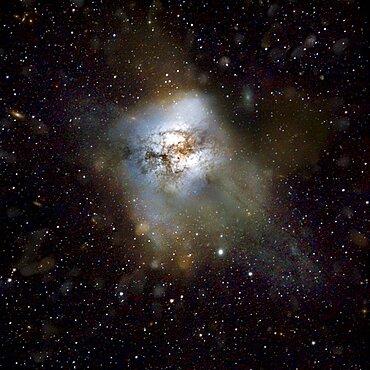 Starburst galaxy HFLS3, artwork