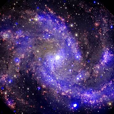 NGC 6946, The Fireworks Galaxy