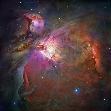 Orion Nebula, Hubble Space Telescope