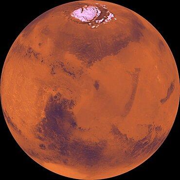 Mars, Viking Orbiter Mosaic