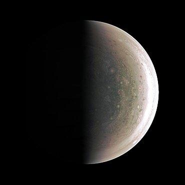 Jupiter's South Pole