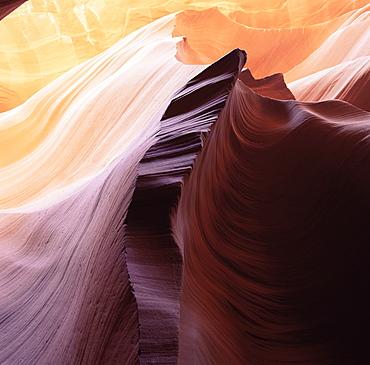 Lower Antelope, a slot canyon, Arizona, United States of America (U.S.A.), North America