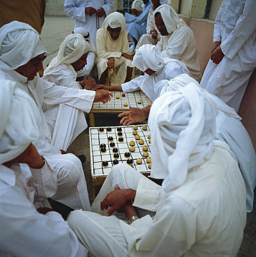 Board games, Muharraq, Bahrain, Middle East