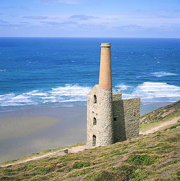 Wheal Coates Mine, St. Agnes, Cornwall, England, United Kingdom, Europe