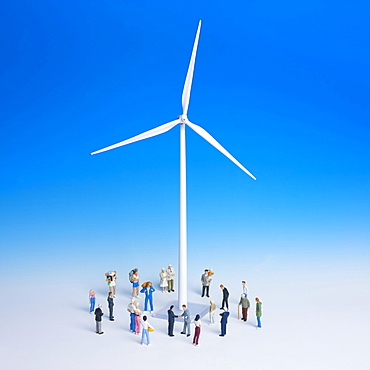 Miniature wind turbine