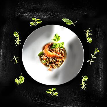 Fregola Sarda Pasta with seafood