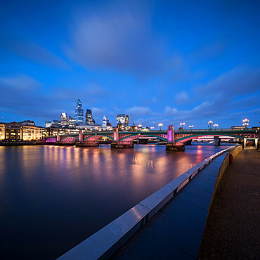 Blackfriars Bridge, London, England, UK
