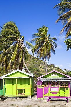 Outdoor market, Clifton, Union Island, The Grenadines, St. Vincent and The Grenadines, West Indies, Caribbean, Central America
