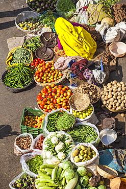 Market, Pushkar, Rajasthan, India, Asia