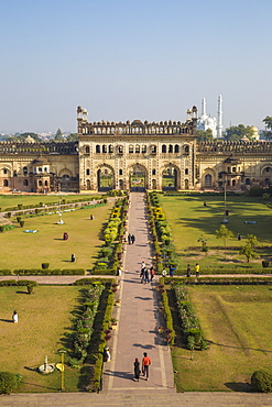 Bara Imambara complex, Bada Imambara (Main Building), Lucknow, Uttar Pradesh, India, Asia
