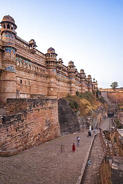 Man Singh Palace, Gwalior Fort, Gwalior, Madhya Pradesh, India, Asia