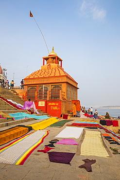 Sindhia Ghat, Varanasi, Uttar Pradesh, India, Asia