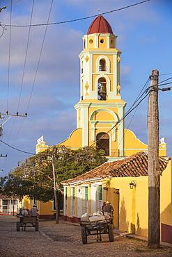 Museo de la Lucha Contra Bandidos, former convent of San Francisco de Assisi, Trinidad, UNESCO World Heritage Site, Sancti Spiritus Province, Cuba, West Indies, Caribbean, Central America