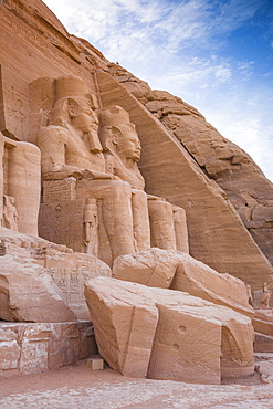 The Great Temple (Temple of Ramses II), Abu Simbel, UNESCO World Heritage Site, Egypt, North Africa, Africa