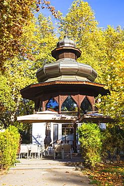 Music pavilion, Sarajevo, Bosnia and Herzegovina, Europe