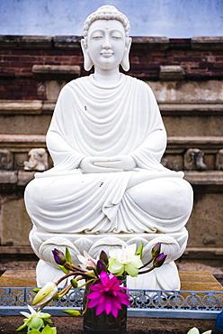 Isurumuniya Vihara, a Buddhist cave temple in the Cultural Triangle, Anuradhapura, Sri Lanka, Asia