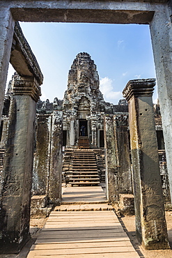 Bayon Temple in Angkor Thom, Angkor, UNESCO World Heritage Site, Siem Reap Province, Cambodia, Indochina, Southeast Asia, Asia