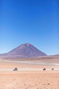 The high altiplano near the Eduardo Avaroa Andean Fauna National Reserve, Potosi Department, Bolivia.