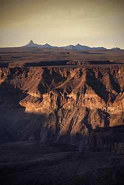 View of Fish River Canyon, Namibia, Africa