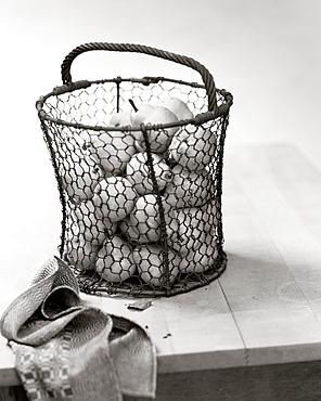 Basket of pears, Fruit, Food