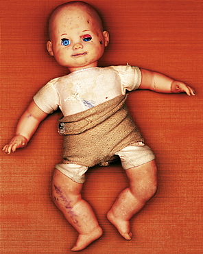 Old doll, Toy, Childhood